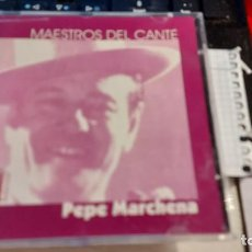 CDs de Música: CD DE MAESTRO DEL CANTE -PEPE MARCHENA-. Lote 235559020