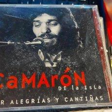 CDs de Música: CD DE CAMARON DE LA ISLA POR ALEGRIAS Y CANTIÑAS. Lote 235562150