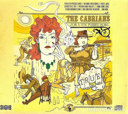 THE CABRIANS - FOR A FEW PUSSIES MORE (Música - CD's Reggae)