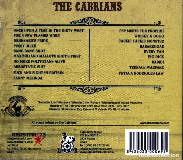 CDs de Música: THE CABRIANS - FOR A FEW PUSSIES MORE - Foto 2 - 235572805