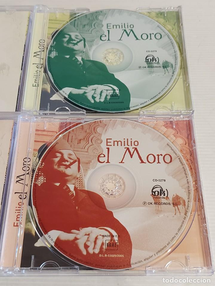 CDs de Música: EMILIO EL MORO / 2 CDS - OK RECORDS-2005 / 24 TEMAS / IMPECABLES - DE LUJO. - Foto 2 - 235645890