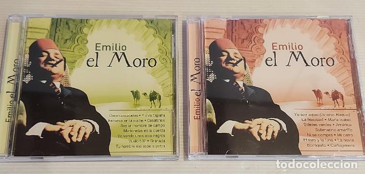 EMILIO EL MORO / 2 CDS - OK RECORDS-2005 / 24 TEMAS / IMPECABLES - DE LUJO. (Música - CD's Otros Estilos)