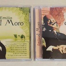 CDs de Música: EMILIO EL MORO / 2 CDS - OK RECORDS-2005 / 24 TEMAS / IMPECABLES - DE LUJO.. Lote 235645890