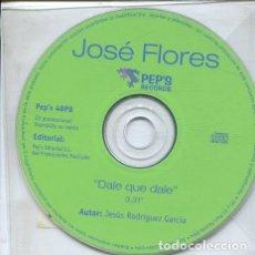 CDs de Música: JOSE FLORES / DALE QUE DALE (CD SINGLE PROMO). Lote 235651385