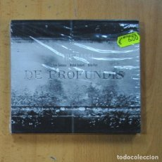 CDs de Musique: LEE SANTANA / MICHEL GODARD / HILLE PERL - TRE BASSI DE PROFUNDIS - CD. Lote 235663945