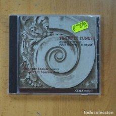 CDs de Musique: STEPHANE BEAULAC / VINCENT BOUCHER - TRUMPET TUNES - CD. Lote 235664165