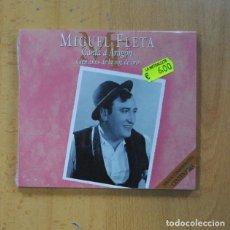 CDs de Música: MIGUEL FLETA - CANTA A ARAGON CIEN AÑOS DE LA VOZ DE ORO - CD. Lote 235664425