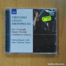 CDs de Música: MARIA KLIEGEL / NINA TICHMAN - VIRTUOSO CELLO SHOWPIECES - CD. Lote 235664440