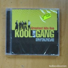 CDs de Música: KOOL & THE GANG - GREATEST HITS LIVE - CD. Lote 235664745