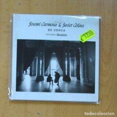CDs de Música: JOSEMI CARMONA / JAVIER COLINA - DE CERCA - CD. Lote 235664765