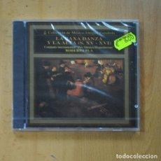 CDs de Musique: ROBERTO PLA - LA BAXA DANZA Y LA ALTA S XV / XVI - CD. Lote 235665060