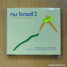 CDs de Música: VARIOS - NU BRAZIL 2 - 2 CD. Lote 235665265