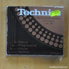 CDs de Música: VARIOS - TECNICHS - 4 CD. Lote 235665315