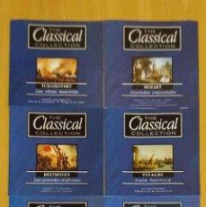 CDs de Música: LOTE 6 CD'S THE CLASSICAL COLLECTION (MOZAR, VIVALDI, BEETHOVEN, ALBENIZ, HAENDEL, TCHAIKOVSKY). Lote 235722665