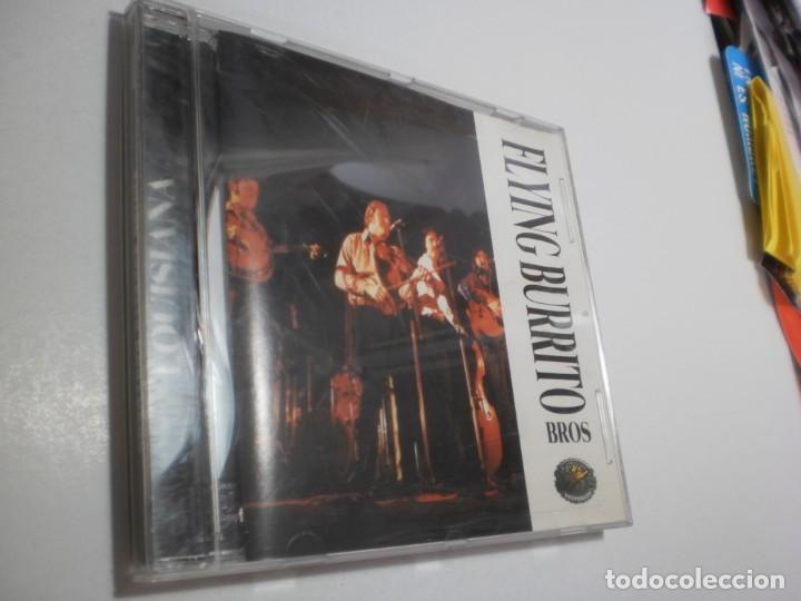 CD FLYING BURRITO BROS. LOUISIANA. DESPERADO 1999 THE NETHERLANDS 11 TEMAS (BUEN ESTADO) (Música - CD's Rock)
