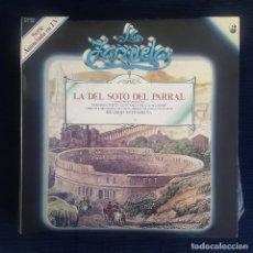 CDs de Música: LA DEL SOTO DEL PARRAL - CARREÑO/ SEVILLA/ SOUTULLO/ VERT. / COLECCION LA ZARZUELA Nº 6 RF-8977. Lote 235729740