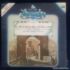 CDs de Música: EL HUESPED DEL SEVILLANO /JACINTO GUERRERO/ LUCA DE TENA / COLECCION LA ZARZUELA Nº 16 RF-8979. Lote 235730290