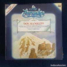 CDs de Música: DON MANOLITO - L.FERNANDEZ SEVILLA/ ANSELO C. CARREÑO / COLECCION LA ZARZUELA Nº 19 RF-8980. Lote 235730515