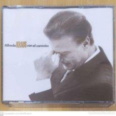 CDs de Música: ALFREDO KRAUS (CON EL CORAZON) 2 CD'S 1991 * PRECINTADO. Lote 235731345
