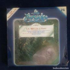 CDs de Música: LA BRUJA (1º PARTE) - RAMOS CARRION/ RUPERTO CHAPI / COLECCION LA ZARZUELA Nº 74 RF-8986. Lote 235732560