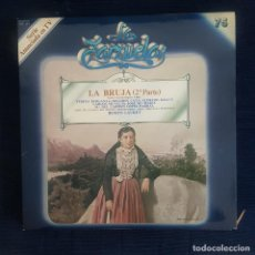 CDs de Música: LA BRUJA (2º PARTE) - RAMOS CARRION/ RUPERTO CHAPI / COLECCION LA ZARZUELA Nº 74 RF-8987. Lote 235732690