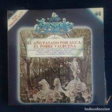 CDs de Música: EL AÑO PASADO POR AGUA / EL POBRE VALBUENA / COLECCION LA ZARZUELA Nº 85 RF-8989. Lote 235733190