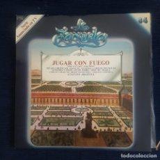 CDs de Música: JUGAR CON FUEGO - VENTURA DE LA VEGA/ F. ASENJO / COLECCION LA ZARZUELA Nº 84 RF-8991. Lote 235733595