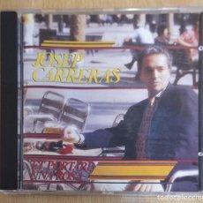 CDs de Música: JOSEP CARRERAS (ET PORTARE UNA ROSA) CD 1987 * DIFICIL EN CD. Lote 235734565