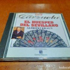 CDs de Música: ALFREDO KRAUS. EL HUESPED DEL SEVILLANO. TIEMPO DE ZARZUELA 5. CD EN BUEN ESTADO. Lote 235812230