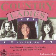 CDs de Música: COUNTRY LADIES - COMPILATORIO. Lote 235819555