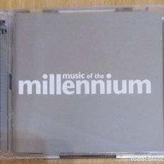 CDs de Música: MUSIC OF THE MILLENNIUM - 2 CD'S 2000 (QUEEN, U2, ABBA, BON JOVI, ELTON JOHN, SUPERTRAMP....). Lote 235831185