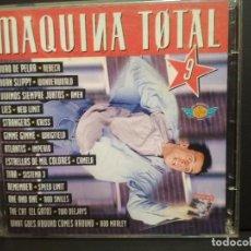 CDs de Música: MAQUINA TOTAL 9 DOBLE CD ALBUM 1996 EUROPA CAMELA REBECA KRISS NEW LIMIT SISTEMA 3 ROD PEPETO. Lote 235841170