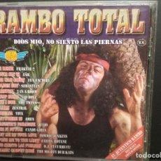 CDs de Música: RAMBO TOTAL CD DOBLE MAX MUSIC PEPETO. Lote 235842040