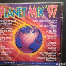CDs de Música: PLANET MIX 97 - 2 CD GEORGE MICHAEL SPICE GIRLS DUNE MELODIE MC ALEX BER 23 TEMAS PEPETO. Lote 235843965
