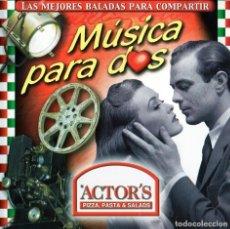CDs de Música: MUSICA PARA DOS - LAS MEJORES BALADAS PARA COMPARTIR. Lote 235884825
