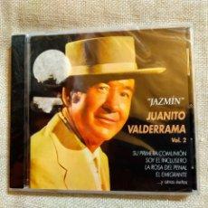 """CDs de Música: CD """"JAZMÍN"""" JUANITO VALDERRAMA VOL.2, RECOPILATORIO. NUEVO, PRECINTADO (MINT_MINT). Lote 235886300"""