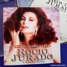 CDs de Música: CD, ROCIO JURADO, HOLA EN HOMENAJE A ROCIO JURADO, 2006 ,COMO NUEVO(NM_NM). Lote 235886485