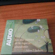 CDs de Música: LOS 10 SECRETOS DE LA RIQUEZA ABUNDANTE ADAM J JACKSON AUDIOLIBRO TRES CDS JORGE ENVÍO CERTIF -5,99. Lote 235886755