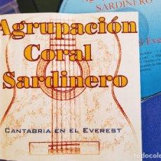CDs de Música: AGRUPACION CORAL SARDINERO, CANTABRIA EN EL EVEREST, 2003, COMO NUEVO (NM_NM). Lote 235895930