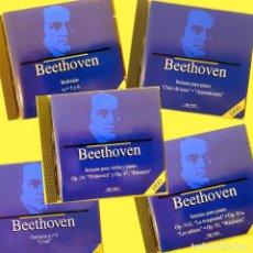 CDs de Música: 5 CD BEETHOVEN,SINFONIAS 5,6 Y 9,SONATAS PARA PIANO Y VIOLÍN. ORBIS FABBRI , COMO NUEVOS (NM_NM). Lote 235925110