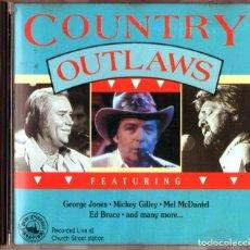 CDs de Música: COUNTRY OUTLAWS - VARIOS COMPILACION. Lote 235943995