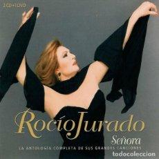 CDs de Música: ROCÍO JURADO – SEÑORA (LA ANTOLOGÍA COMPLETA DE SUS GRANDES CANCIONES) 2CD+DVD. Lote 235964775