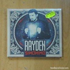 CDs de Música: RAYDEN - SINONIMO - CD. Lote 235971780