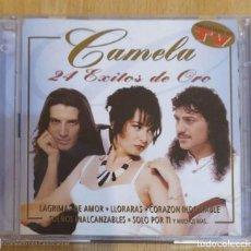 CDs de Música: CAMELA (24 EXITOS DE ORO) 2 CD'S 2000. Lote 235988085