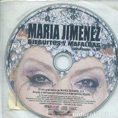 CDs de Música: MARIA JIMENEZ / DIEGUITOS Y MAFALDAS (CD SINGLE PICTURE PROMO 2002 ). Lote 235989250