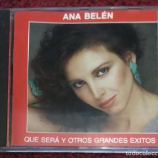 CDs de Música: ANA BELEN (QUE SERA Y OTROS GRANDES EXITOS) CD 1992. Lote 235992330