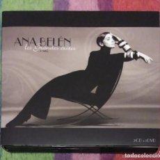 CDs de Música: ANA BELEN (LOS GRANDES EXITOS ... Y MAS) 2 CD'S + DVD 2008. Lote 235992905
