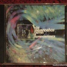 CD de Música: LOS SABANDEÑOS (CANTAN A HISPANOAMERICA) CD 1999. Lote 235995780