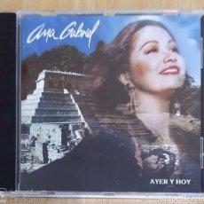 CDs de Musique: ANA GABRIEL (AYER Y HOY) CD 1994. Lote 236003245