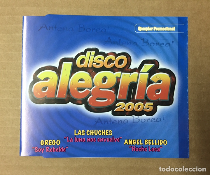 CD SINGLE - DISCO ALEGRIA 2005 (Música - CD's Disco y Dance)